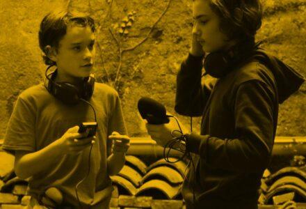 """Stage jeunes """"création radio"""" autour de l'événement Riverrun"""