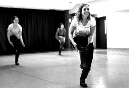 Stage jeunes percus corporelles MJC ALBI - Photo C. Bernier